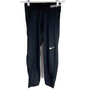 Nike Pro Dri-Fit Black Capris
